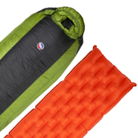 Big Agnes Mystic SL Sleeping Bag and  Q-Core SL Pad