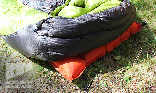 Big Agnes Mystic SL Sleeping Bag Big Agnes Q core SL Pad review