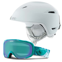Giro Flare Helmet and Field Goggles