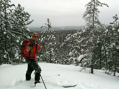 backcountry Skiing Ontario