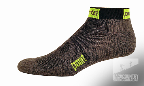 Point 6 Cycling Stealth Extra Light Mini Crew Socks