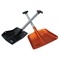 Backcountry Access Arsenal shovel with Saw and A1 shovel with probe