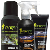Granger's waterproof and cleaning products