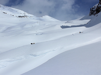 Bow Hut Backcountry Skiing Routes