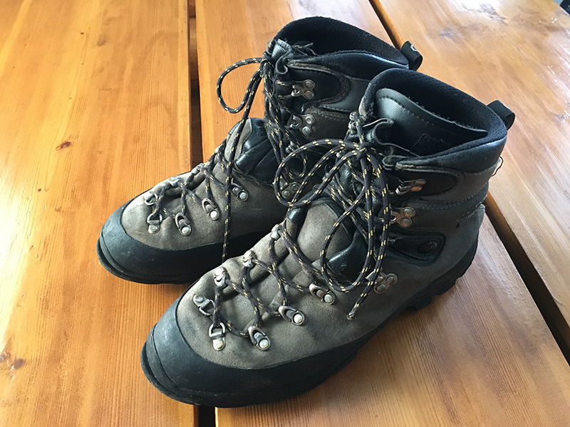Asolo Hiking/Glacier Boots for sale