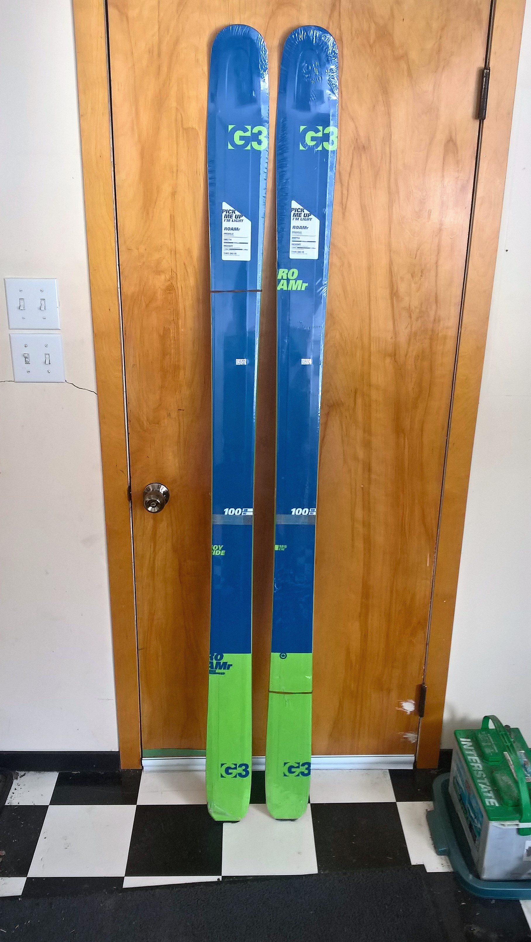SOLD- 4 sale- Brand New G3 ROAMr 185 skis
