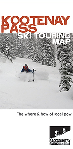 kootenay pass backcountry ski map
