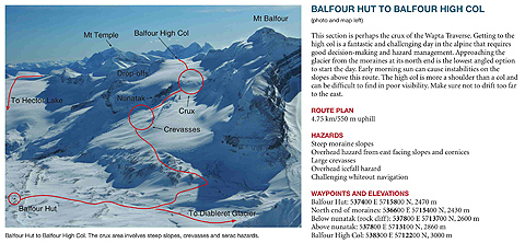 summits and icefields map