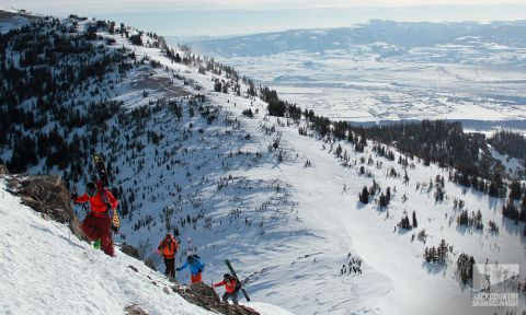 Final Day Out With Marmot And Exum Guides In Jackson Hole
