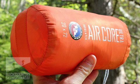 New! Big Agnes Insulated Air Core Ultra Sleeping Pad