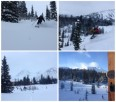Canadian Adventure Company's Mallard Mountain Lodge ~ 1st turns carved in beautiful early season powder.