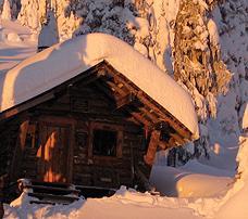 Grassy Hut Bonnington Range Nelson BC