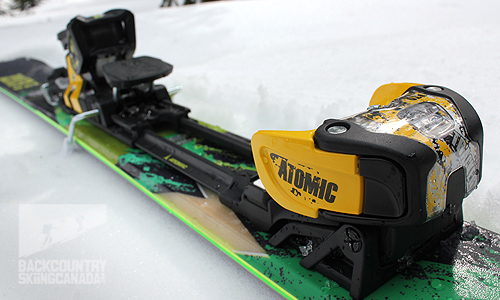 Atomic Tracker 16 WTR Binding Review