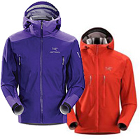 Arcteryx Beta FL and Acto MX Hoody jackets