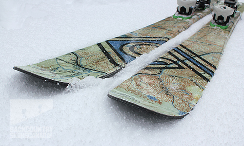 Bigbend Handcrafted Skis