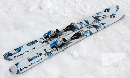 16ea3bbbc6 Black Diamond Carbon Mega Watt Skis Review