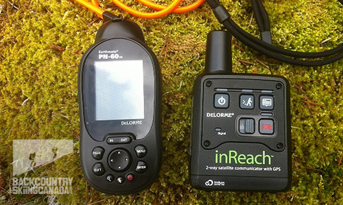 Delorme inReach two-way satellite communicator review v