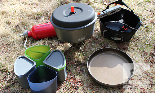 GSI Pinnacle Camper, GSI Pinnacle Backpacker, GSI Pinnacle Dualist Integrated Cooking Solutions .doc