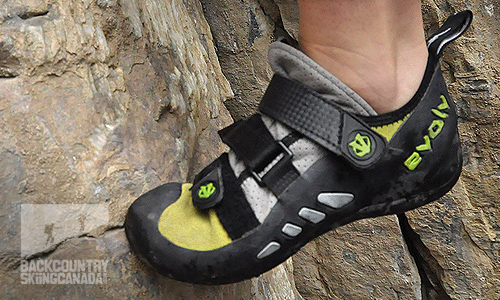 Evolv Geshido SC Rock Climbing Shoes review