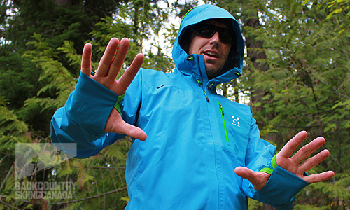 Haglofs Endo Hard Shell Jacket with Gore-Tex Active Shell