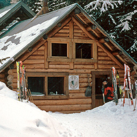 A.O. Wheeler Hut