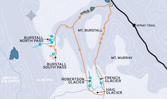 Backcountry Skiing In Kananaskis Country Alberta And Peter