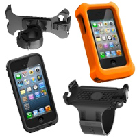 Lifeproof iPhone Case, Go Pro Mount, Armband and LifeJacket