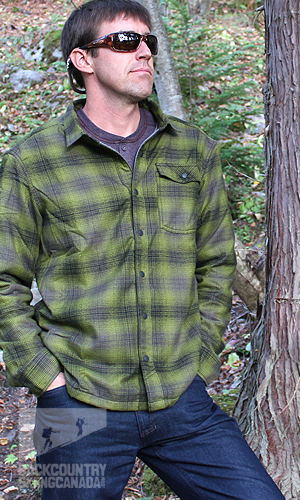 Mountain Hardwear Trekkin Flannel Shacket