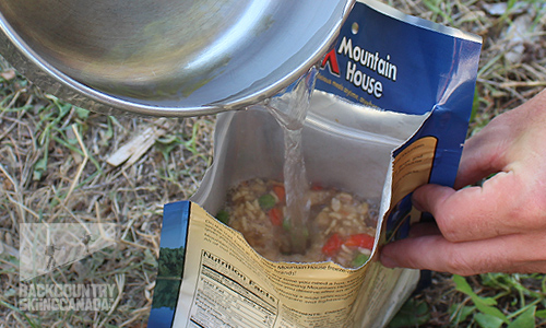 Mountain House Freeze Dried Food