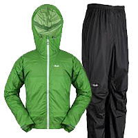 Rab Kinetic Jacket and Rab Kinetic pants