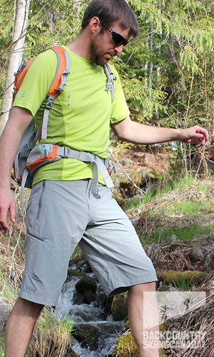 Rab Vertex Shorts and Aeon tee for Men 2013
