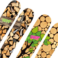 Ramp Beaver skia and Ramp Groundhog skis