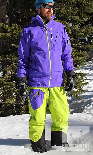 Details about Salomon Quest Motion Snow Herren Skijacke Snowboardjacke Winterjacke NEU