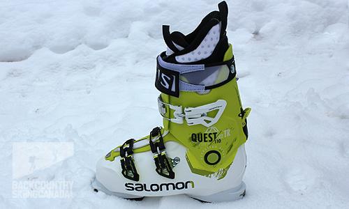 Salomon Quest Pro TR 110 Ski Boots 2015 | evo