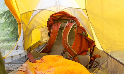 voittamaton x tilata netistä yksityiskohtaiset kuvat The North Face Triarch 1 Tent Review