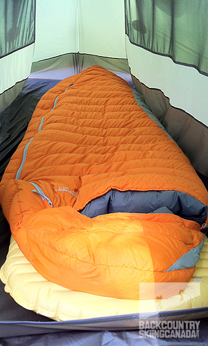 huge selection of c1b41 50c8c Thermarest Antares Down Sleeping Bag and NeoAir XLite ...