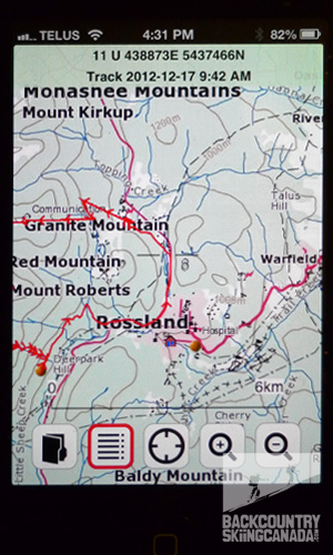 View Ranger Mobile Map App