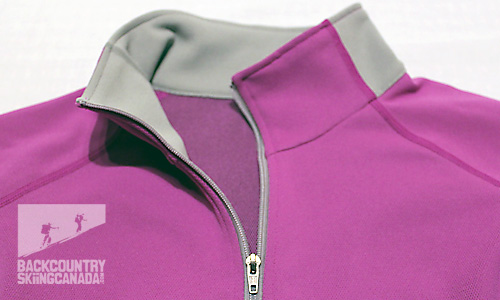 Montbell Zeo-line 3D Thermal Long Sleeve Zip Shirt