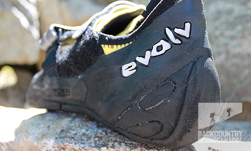 Evolv Rhasta Shaman and Prime SC climbing shoes