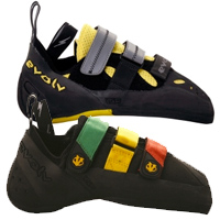 Evolv-Shaman-and-Prime-SC-climbing-shoes