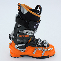 SCARPA MAESTRALE ALPINE TOURING BOOTS Date  April 23rd 2011. Reviewer   Andrew Overall Rating  9 10. Product Link  Scarpa 1667f4f77