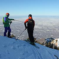 backcountry skiing utah salt lake city