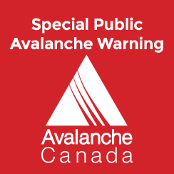 Special Public Avalanche Warning for North Rockies, and Northern Sections of the Cariboos and North Columbia regions