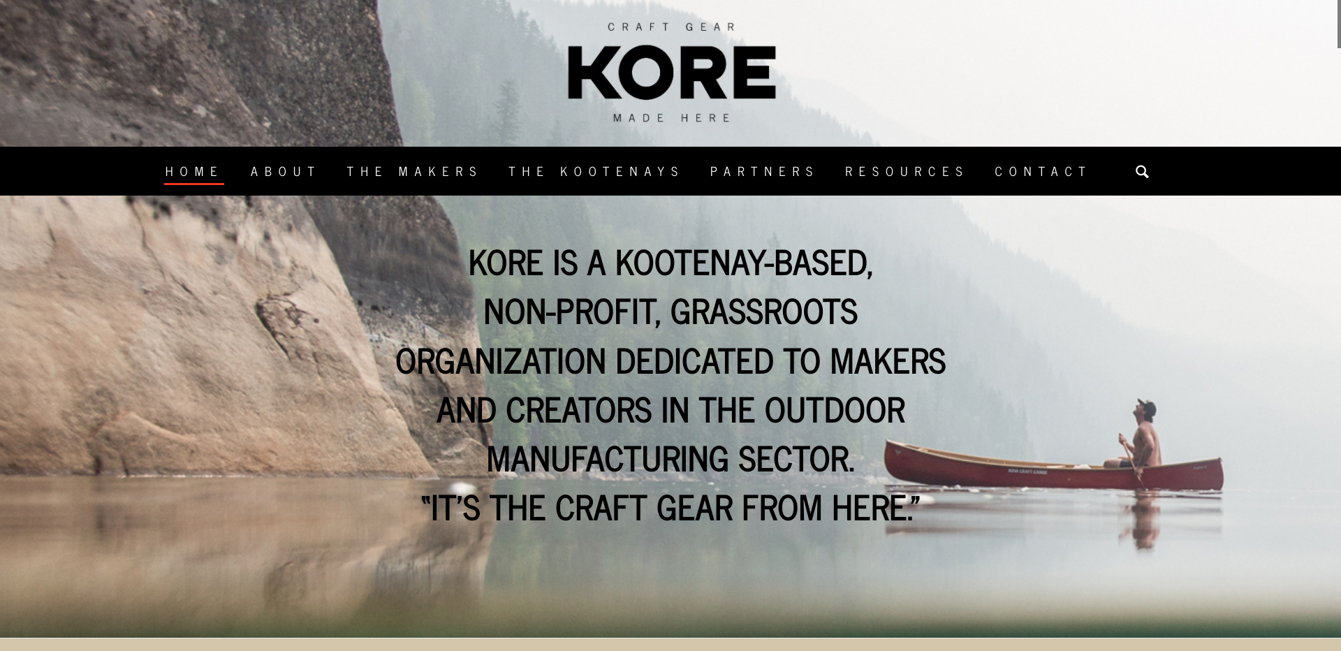 KORE; Kootenay Outdoor Recreation Enterprise