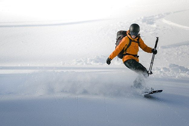 Christine Feleki becomes first woman to complete the ACMG Ski Guide program on a splitboard