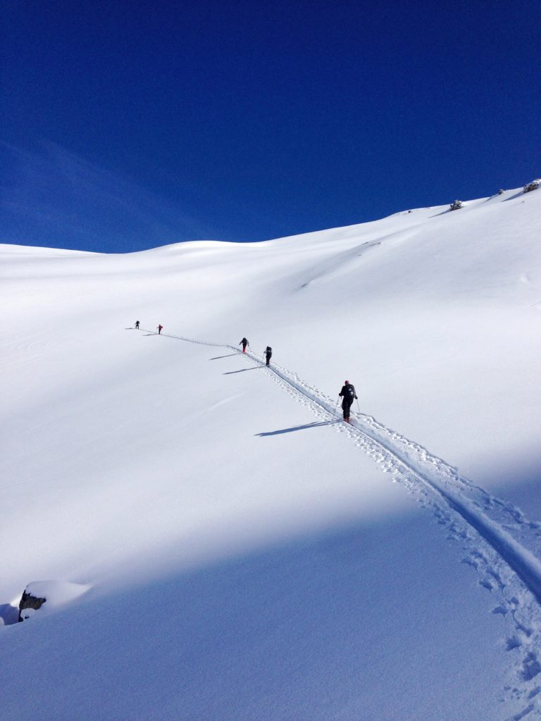 Getting started for ski touring Winter 2020