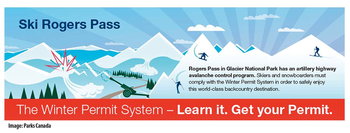 Rogers Pass And The Winter Permit System