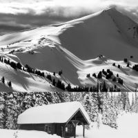 Visit Eldorado Cabin - ski touring in the South Chilcotins