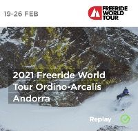 Freeride World Tour 2021 Kicks off in Andorra