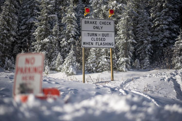 Teton Pass Parking Restricted